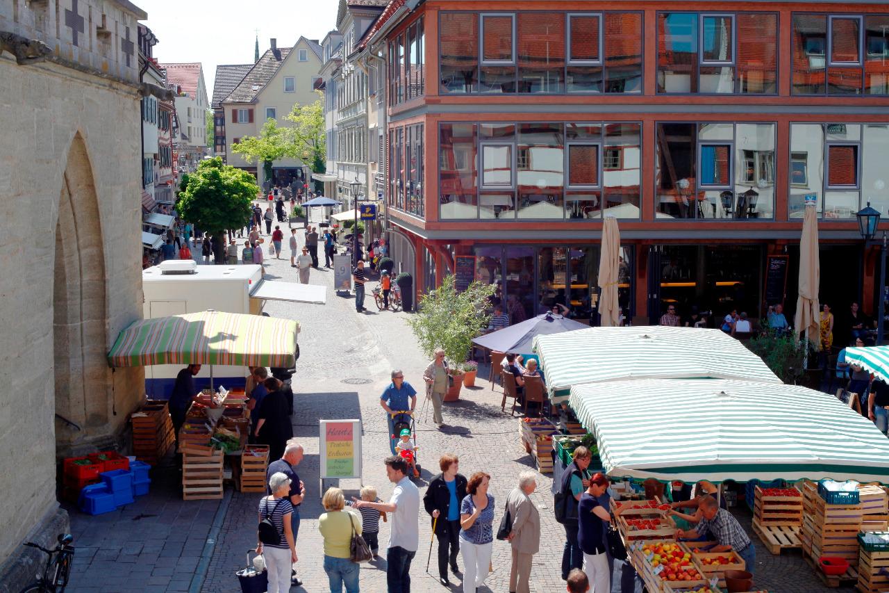 Cafe Am Markt In Bad Saulgau